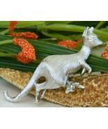 Napier Kangaroo Figural Pin Brooch Nodding Baby... - $17.95