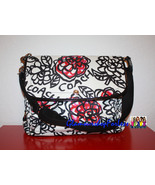 Coach Daisy Floral Graffiti Messenger Bag - Black / Multi