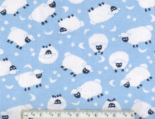 Baby Lamb Flannel Fq Quilt Fabric Quilt Craft Sewing Fabric
