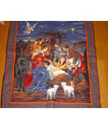 Nativity Wall Hanging,Hand Embroidered/Quilted ... - $79.99