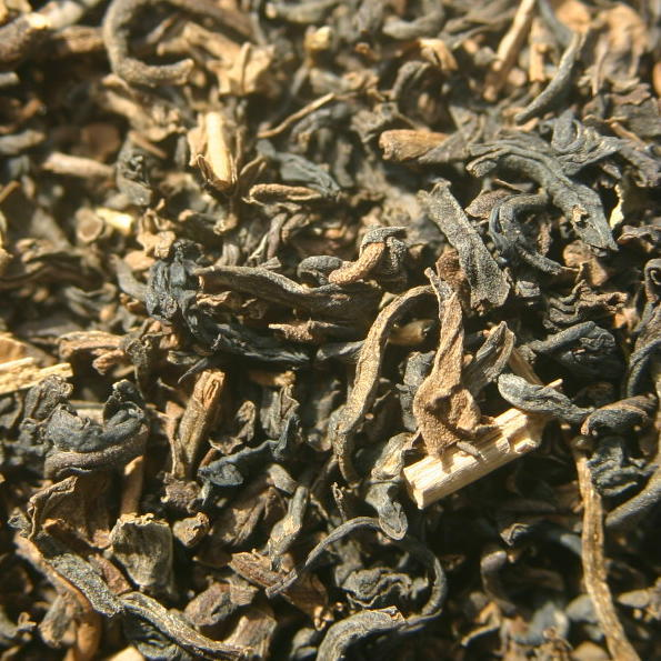 Decaffeinated Indian Black Loose Tea - ORGANIC 4 oz.