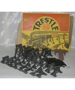 Marx Railroad Trestle Set #1412 & Original Colorful Box - $69.99