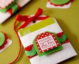 Buy Gift Tags - Hanging Gift Card Holders and Tag Set - In White