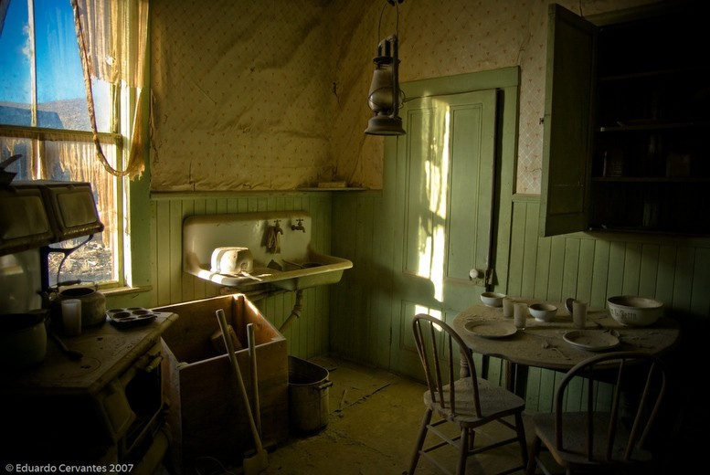 The Kitchen - (ghost town series) Original Fine Art Photogra