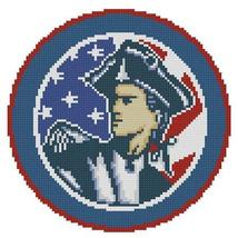 Patriot Emblem cross stitch chart Pinoy Stitch - $5.00