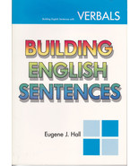 With Verbals Building English Sentences by Euge... - $4.99