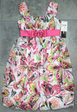 Girls Pink Dress Size 12 Butterfly Party Bubble Hem My MichelleTeen NWT