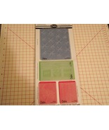 Sizzix textured impressions 4 embossing folders... - $12.99