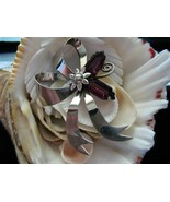 Sterling Silver Bow Brooch Vintage 17.4 grams 3... - $55.00