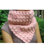 Pink Cowl - $42.00