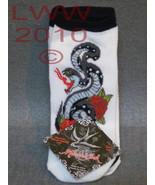 3 Pair Licensed Miami Ink White Snake Tattoo La... - $6.99