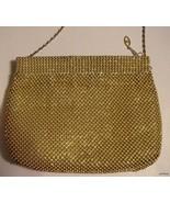 Warren Reed genuine Gold Beaded vintage Evening... - $25.00