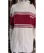 SouthPole Mens Sweater Size XL Red w/White Stri... - $19.75