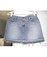 Abercrombie & Fitch Cut Off Distressed Blue Jea... - $7.99