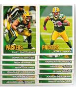 2010 Topps Green Bay Packers Football Set - $4.00
