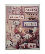 Teddy n Friends Cross Stitch Dale Burdett DB-25 - $1.99