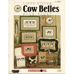 Cow Belles Book Eight Linda Gillum Cross Stitch  142