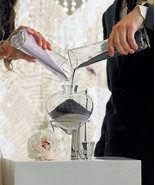 Heart Shaped Unity Sand Wedding Ceremony Vases ... - $42.15