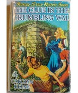Nancy Drew #22 THE CLUE IN THE CRUMBLING WALL 1... - $25.00