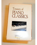 Treasury of Piano Classics Set 5 Tapes Classica... - $12.86