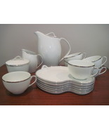 Noritake Silverdale Coffee & Snack Serving for 6 - $150.00