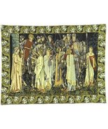 49x66 HOLY GRAIL Knight Medieval Tapestry Wall ... - $795.00
