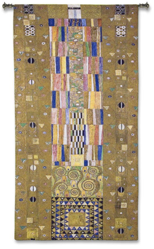 98x53 FREGIO STOCKLET Klimt Art Tapestry Wall Hanging