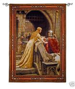 53x76 GODSPEED Knight Medieval Tapestry Wall Ha... - $289.95