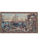 26x45 GALLEON Ship Boat Venice Italy Tapestry W... - $125.00