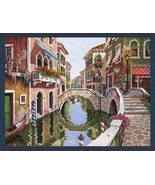 26x34 VENICE Italy Canal Waterway Tapestry Wall... - $125.00