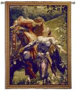 31x40 LA BELLE Knight Medieval Tapestry Wall Ha... - $109.95