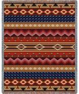 70x54 Native Southwest Geometric Pattern Tapest... - $49.95