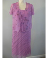 Two Piece Lavender Dress Made By Believe SZ 12 ... - $26.00
