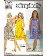 Vintage 1990 Simplicity #9743 Misses' Pullover ... - $12.00