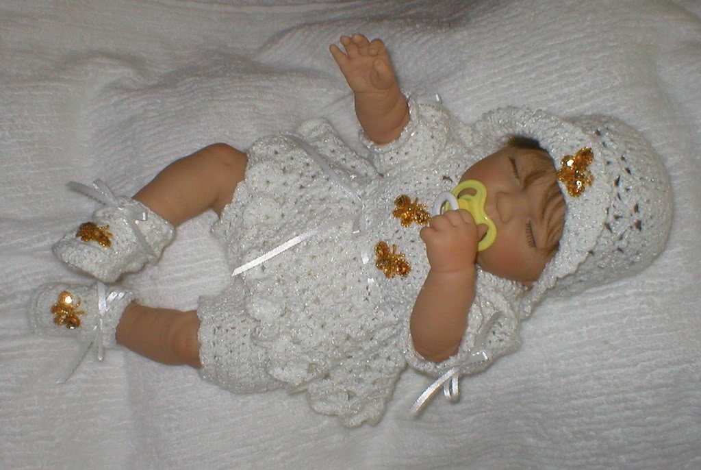 Cheri's Crochet Baby or reborn baby doll clothing or craftsbycheri