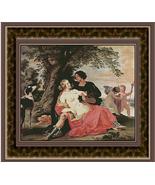Venus and Adonis, Renaissance Counted Cross Sti... - $39.00