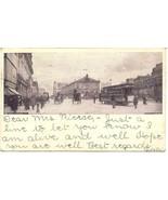 Herald Square New York City 1906 Vintage Post Card - $7.00