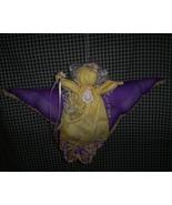 Handmade Angel made with Vintage Hankies - $10.00