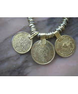 Vintage Coin Necklace Old World Currency SALE J... - $40.00