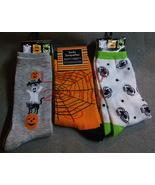 3 Pr. Halloween Spider Ladies Socks size 9-11 - $8.99