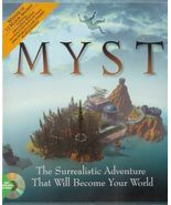 MYST Adventure Game CD-ROM Windows 3.1 DOS 5 PC... - $9.93