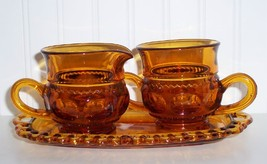 Indiana /Colony Glass Kings Crown Cream,Sugar &... - $29.99