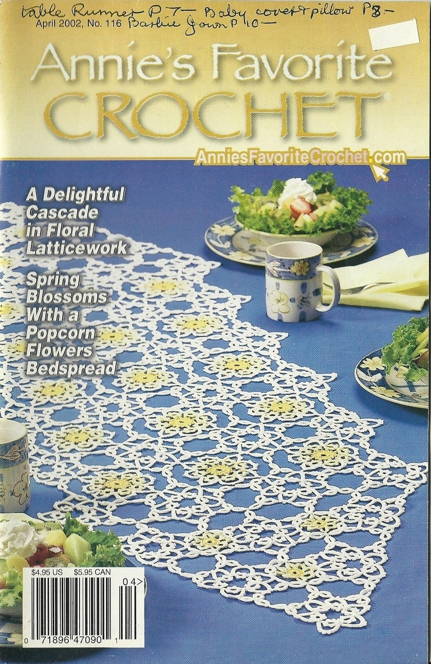 Annie's Favorite Crochet April 2002 Pattern Booklet 116