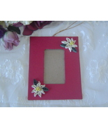 Handcrafted paper quill hanging picture frame, ... - $7.95