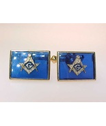 MASONIC GOLD FILLED Men's Cufflinks - $125.00