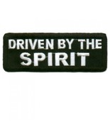Embroidered Christian Patch Driven By The Spiri... - $3.22