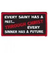 Embroidered Christian Patch Every Saint Patch - $3.22