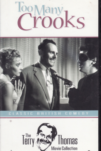 Too Many Crooks dvd Terry Thomas British Comedy