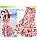 Lovely Teens' Party Bubble Dress with Cherry Print - $10.00
