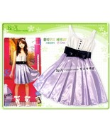 Purple Girls Party Dress Birthday Party Dress C... - $8.00